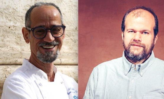 Nabil Hadj Hassen e Alessandro Roscioli, cuoco e p