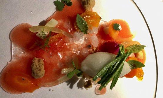 Dall'Orto: verdure, erbe e fiori per dessert