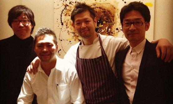 Il team di Shirosaka
