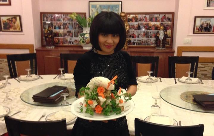 Sonia, la titolare di Hang Zhou