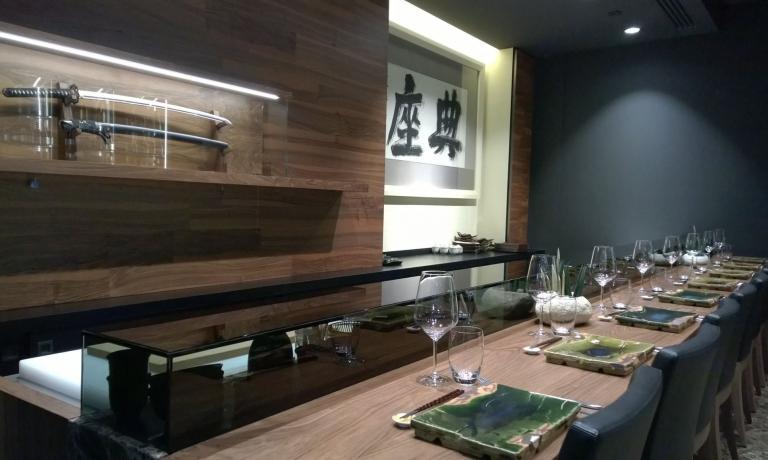 Il tradizionale sushi-bar di Wicky's