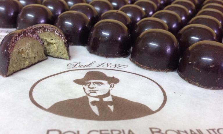 Un'altra squisizezza firmata Bonajuto: cioccolatini al pistacchio