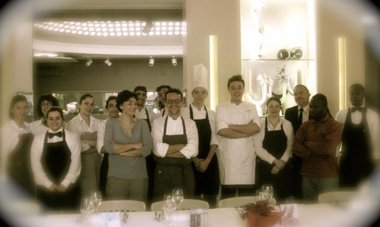 La brigata di Fabrizio Mantovani(al centro) è ad alto tasso rosa