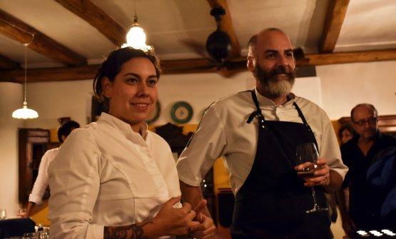 Gli chef Martina Caruso e Tim Butler