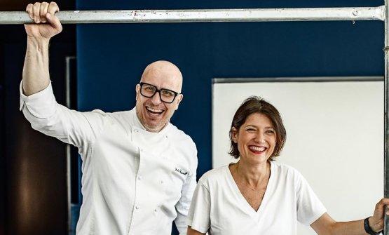 Reggetevi forte: Paolo Brunelli con la compagna Maria Gloria Frattagli