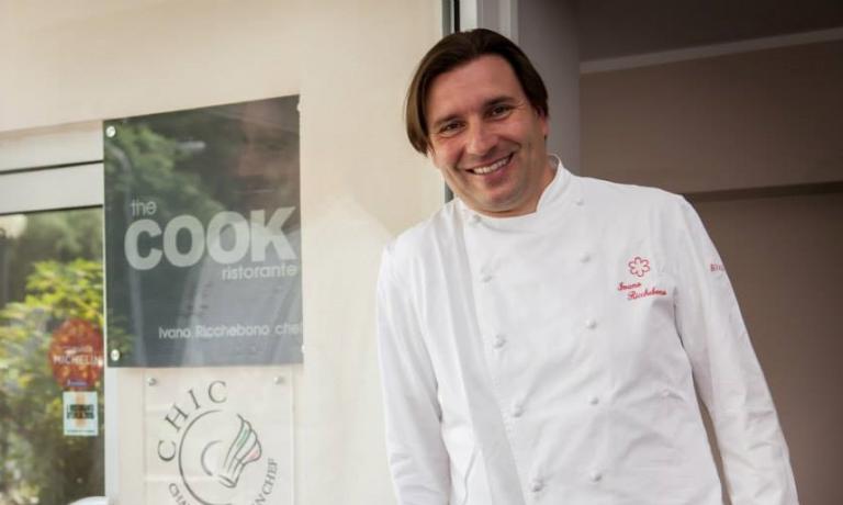 Il cuoco ligure Ivano Ricchebono arriverà lunedì