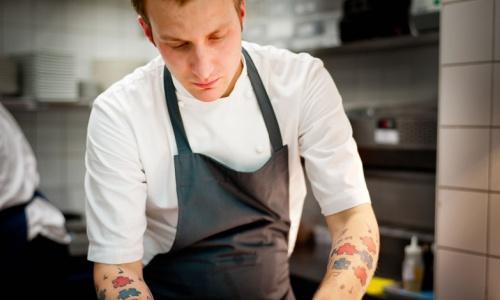 Ben Spalding, 24 anni, head chef del ristorante Ro