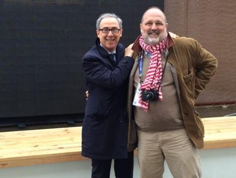 Alessandro Guidi insieme a Paolo Marchi