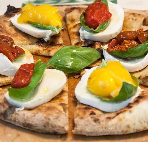 La pizza di Giorgio Caruso,Lievità,via Carlo Ravizza 11 a Milano