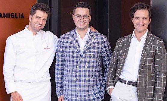 I fratelliFelice (cuoco),Riccardo(maître)