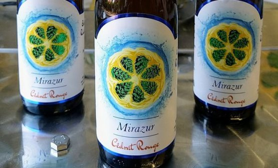 Special beer produced for Mirazur
