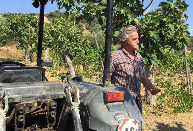 Roberto Ceraudo, agricoltore e proprietario dell'o