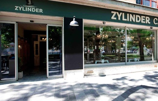 Zylinderdall'esterno