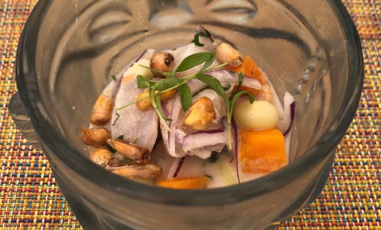 Diego Oka's ceviche. The Peruvian talent has bee