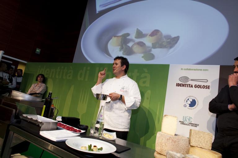 Identità di libertà 2010 - Emanuele Scarello, chef del ristorante Agli Amici a Udine
