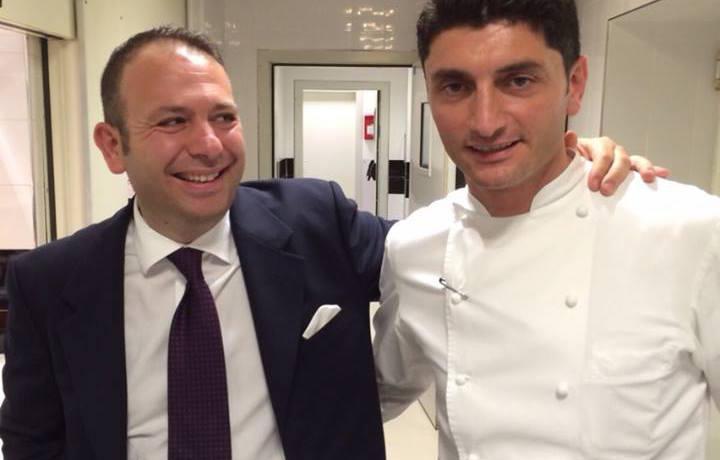 Nicola Ultimo e Andrea Aprea, chef del Vun del Park Hyatt, insieme dal settembre del 2011 (foto Sergio Luigi Locatelli)