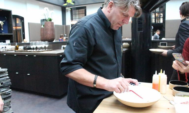 Jonni Boer, classe 1965, chef del ristoranteDe L
