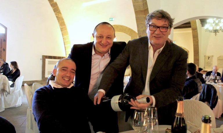 Pino Cuttaia, Ciccio Sultano, Nino Graziano