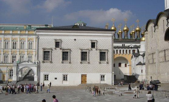 Il Palazzo delle Faccette al Cremlino di Mosca