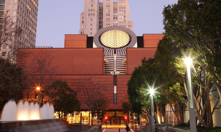 La sede del SFMOMA, il San Francisco Museum of Modern Art