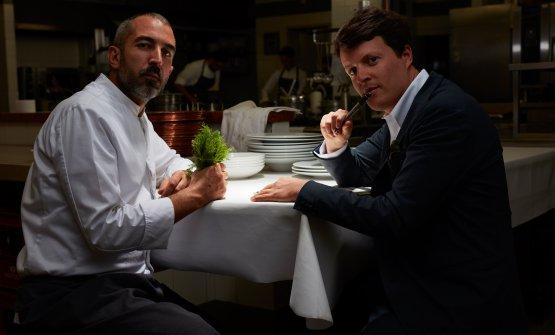 Lo chef e il maître Filippo Gioco