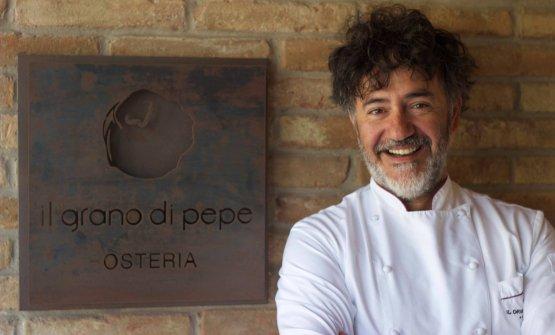 Lo chef Rino Duca