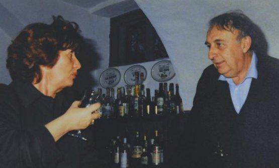 I coniugi Firato in una foto d'archivio