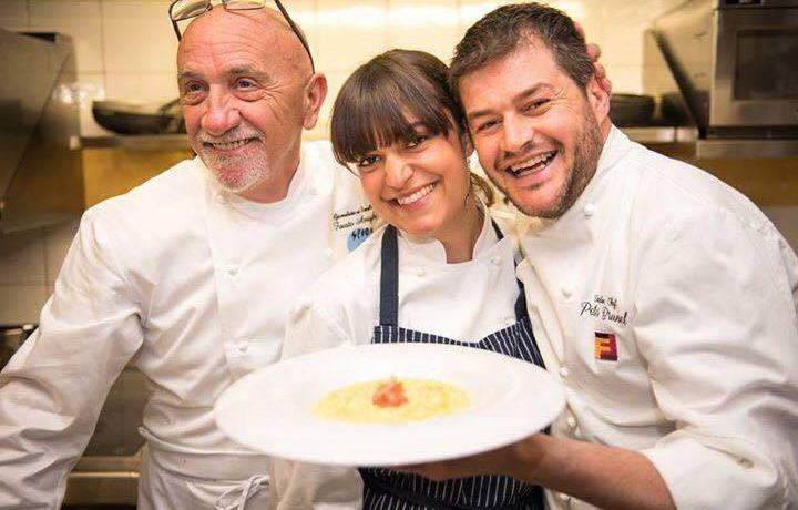In cucina con Peter Brunel e Fausto Arrighi (Martino Dini Photography & Samuel Doni Photo)