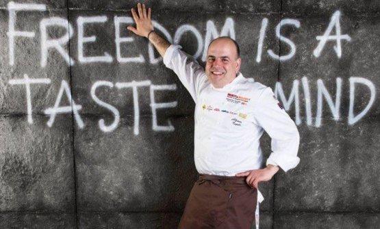Alfonso Caputo, chef della Taverna del Capitano,
