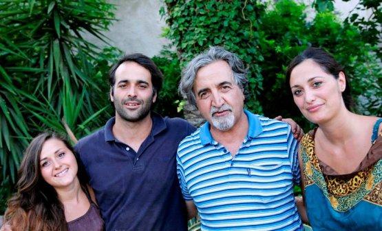 Caterina, Giuseppe, Roberto e Susy Ceraudo