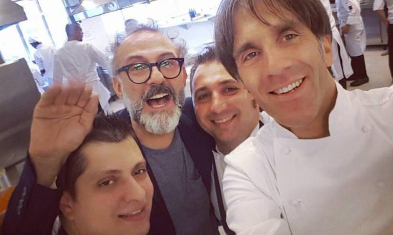 Massimo Bottura e Davide Oldani sono a Rio de Jane