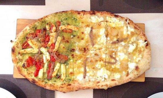 La pizzaTabisca bigusto(A' rianatae sfincione bagherese): è una delle originali specialità della pizzeria Tondo di Palermo