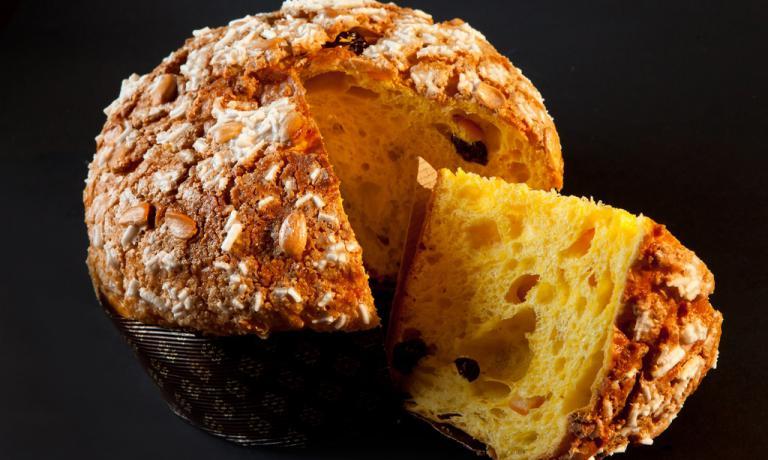 NON SOLO PIZZA. Padoan è forte anche sui lievitati dolci: produce buonissimi panettoni e pandolci (foto: Aromicreativi)