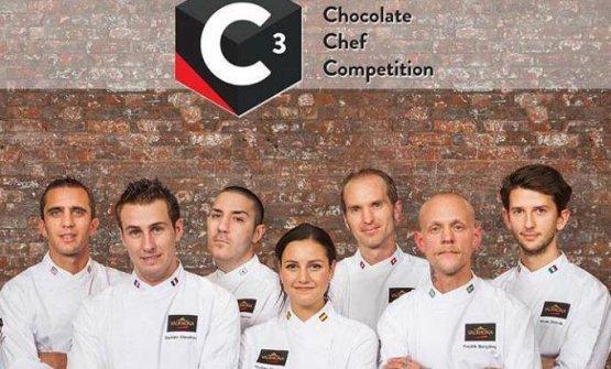 I finalisti della scorsa edizione del C3 Valrhona,