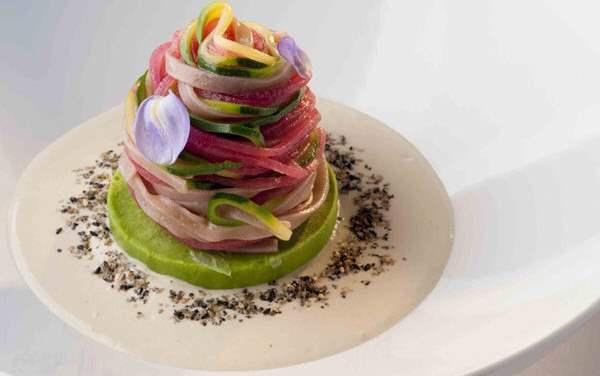 Una delle tante fotografie di Adriano Mauri che illustrano le ricette di chef Leemann