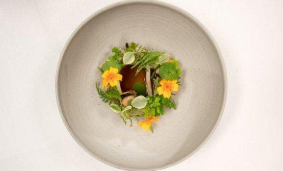 La primaveraa Kamouraska: anguilla affumicata e sedano rapa, diBenjamin Auroy-Langlais
