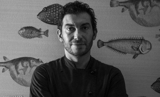Irvin Zannoniè lo chef del ristorante La Capanninadi Casalborsetti (Ravenna)