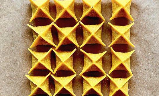 Pasta fresca del laboratorio di Serino, vicino al ristorante, si chiamaIl Mattarello