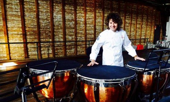 Valentino Cassanelli, classe 1984: uno dei giovani chef italiani in ascesa, lavora al Lux Lucis di Forte dei Marmi