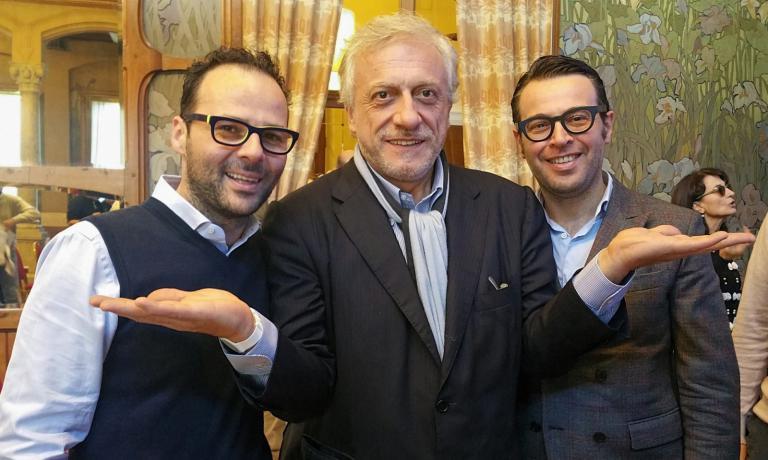 I Pennisi con Davide Scabin
