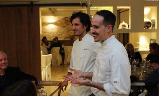 E con un altro talento della giovane cucina abruzzese, Gianni Dezio del Tosto di Atri