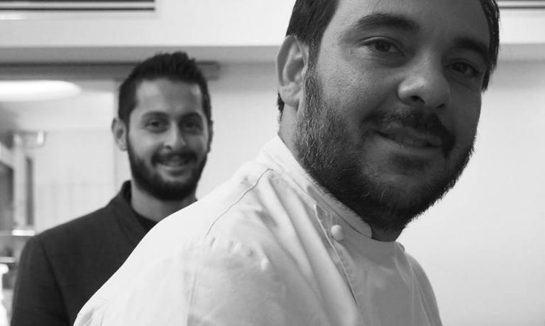 Felice Lo Basso e, sullo sfondo, Gianluca Lo Russo (foto Sonia Gioia)