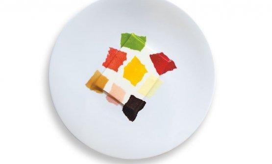 La Panna cotta Matisse di Enrico Crippa, chef del