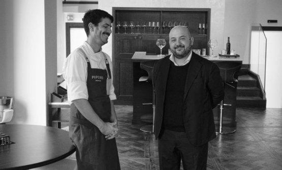 Ciro Scamardella e Alessandro Pipero: il sorriso c