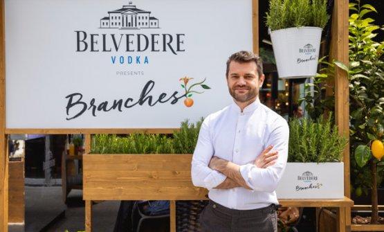 Enrico Bartolini e Belvedere Vodka(le foto sono di Antinori)