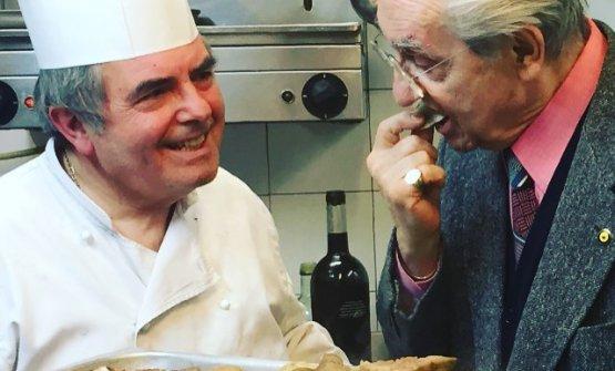 Marchesi assaggia un piatto di Lino Gagliardi