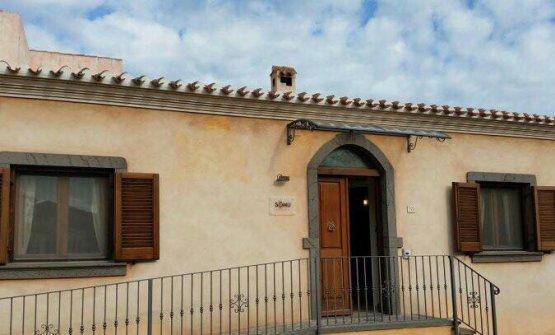 L'edificio che ospita il Somu, al centro di San Vero Milis