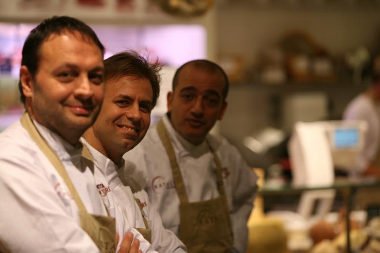 Ugo Alciati, Luca Montersino e Pino Cuttaia
