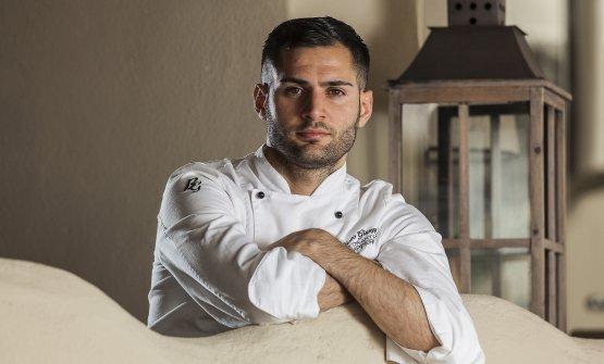 Lo chef Giuseppe Biuso