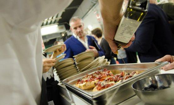 Cooking show di AreaDocks con Olio Coppini a Identità Milano 2017